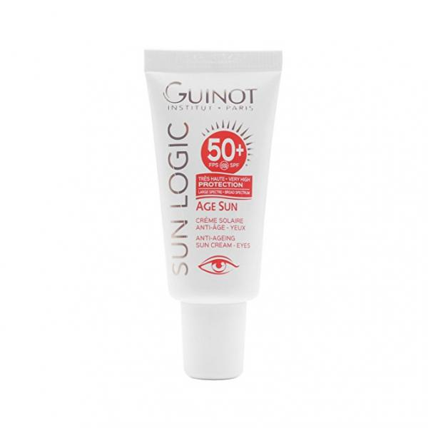 Guinot SunLogic SPF50+ Creme Solaire Anti-Age Yeux