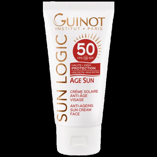 Guinot SunLogic SPF 50 Creme Solaire Anti-Age Visage