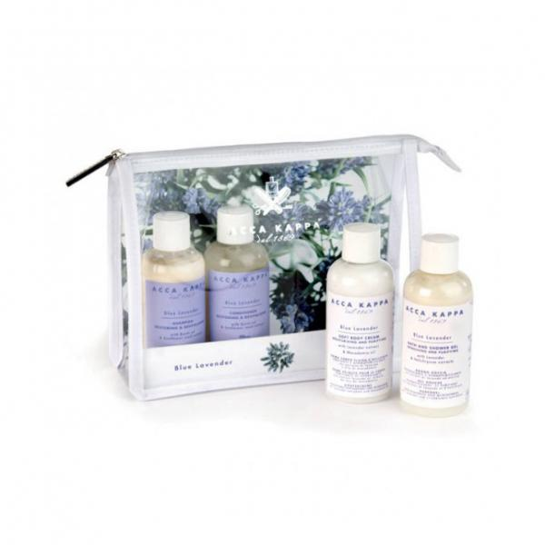 Acca Kappa Blue Lavender Travel Set