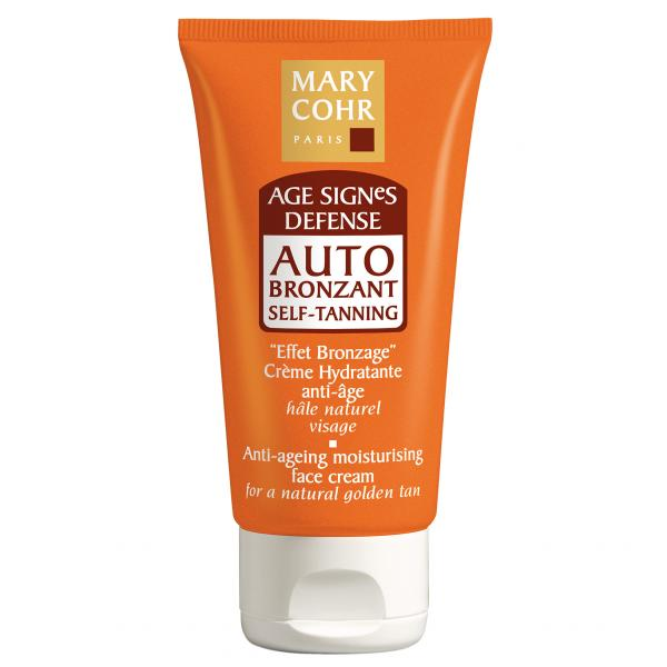 Mary Cohr Age Signes Defense Auto Bronzant Self-Tanning Face Cream