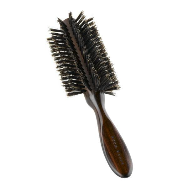 Acca Kappa Classic Collection in Ebony Makassar Wood HAIRBRUSH
