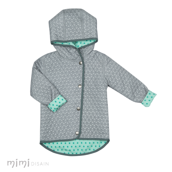 Mimi Quilted Jacket Green