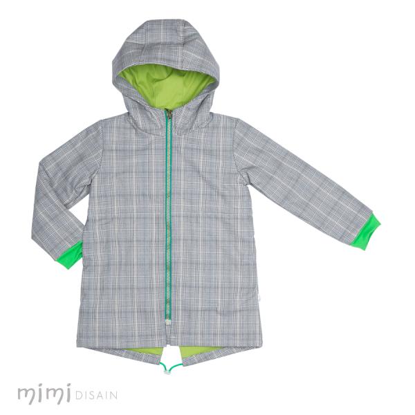 Mimi Jacket Grey/Green lining