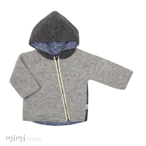 Mimi Jacket Wool Grey