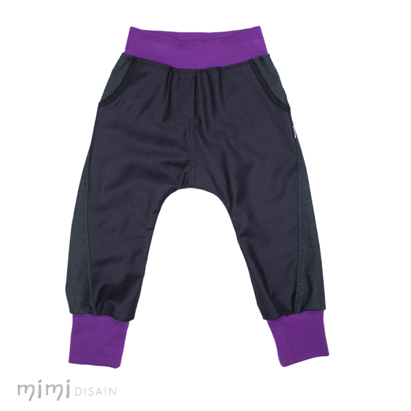Mimi Baggies Dark Purple