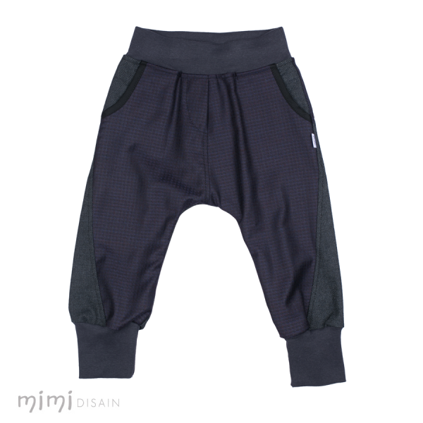 Mimi Baggies Dark Lilac/ Grey