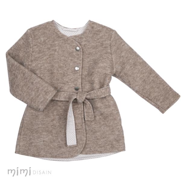 Mimi Coat Anna Beige