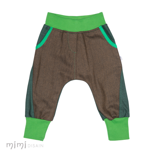 Mimi Baggies Green Brown