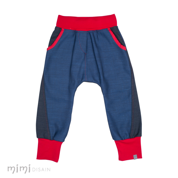 Mimi Baggies Dark Blue Red