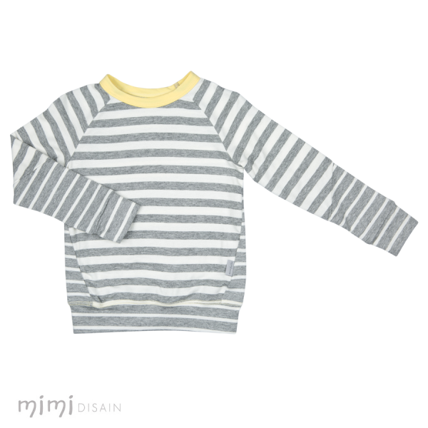 Mimi Thumby Gray Stripes