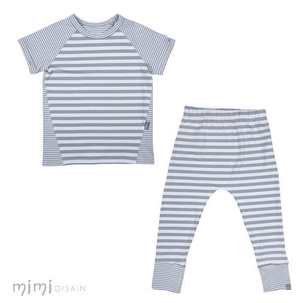 Mimi Play Set Grey Stripe