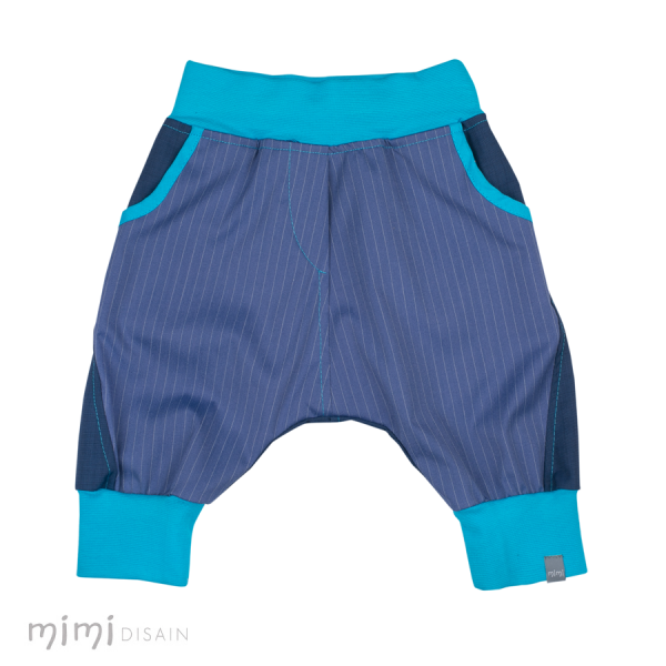 Mimi Knee Baggies Blue Stripe
