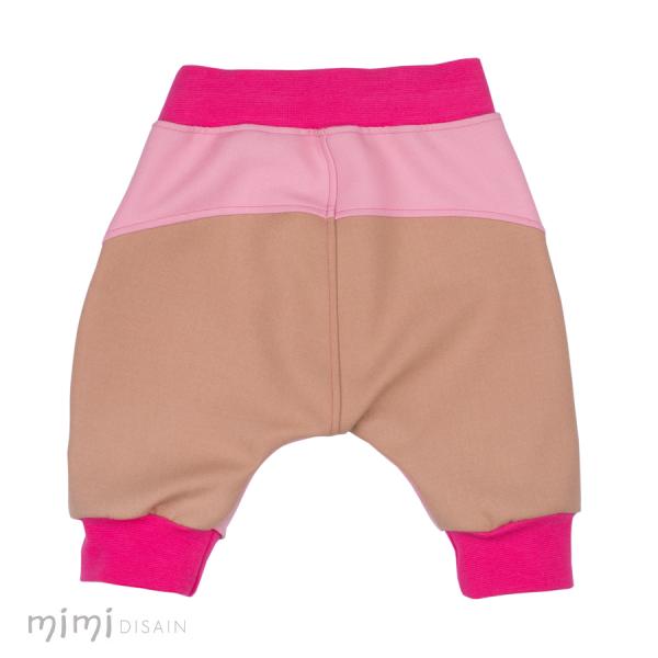 Mimi Põlvbäggipüksid Roosa/ Beež