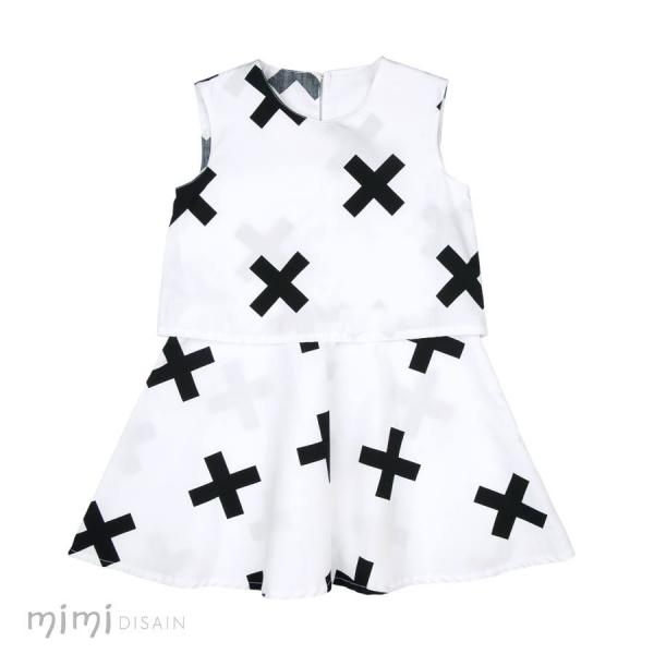 Mimi Dress Kelly White