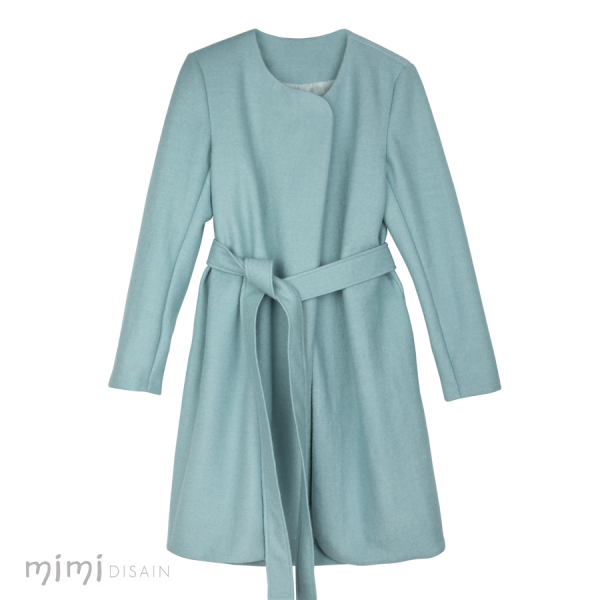Mimi Womens Coat Anna Mint