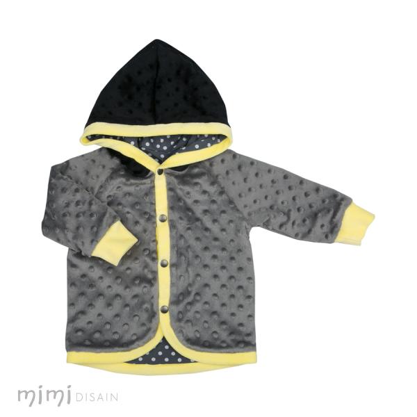 Mimi MUMMU Jacket Black/Gray