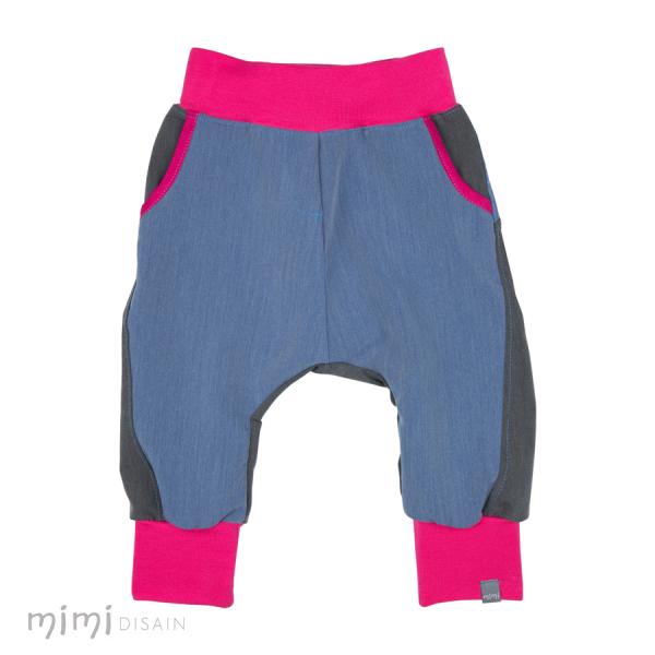 Mimi Baggies Blue/ Pink