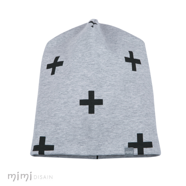 Mimi Gray Beanie CROSS