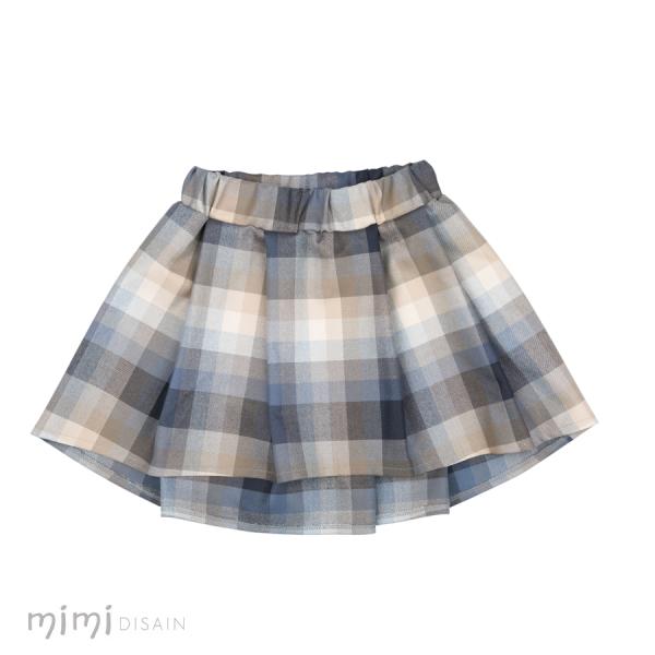 Mimi Skirt Blue Beige