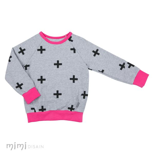 Mimi Jumper Cross Pink