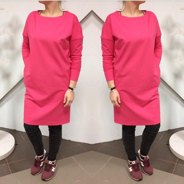 Mimi Womens Dress With Pockets Pink