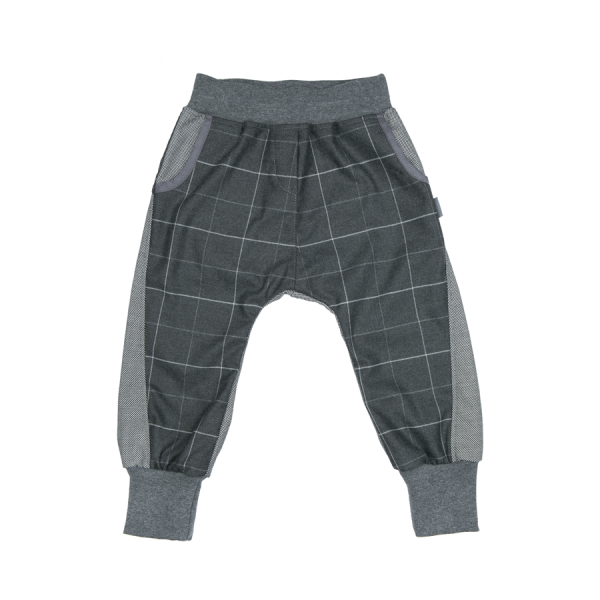 Mimi Baggies Grey Plaid