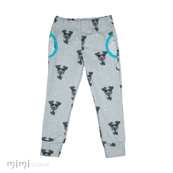 mimi Pants Terry Dogs