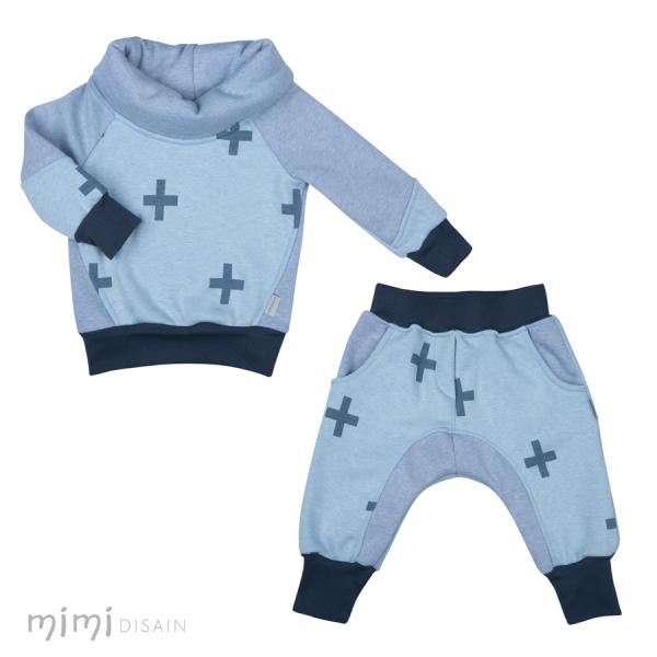 Mimi Jumper Set Blue Plus