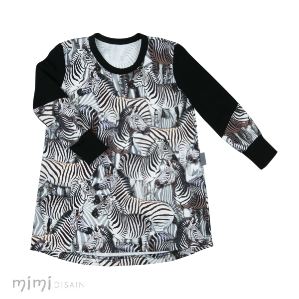 Mimi Thumby Dress Zebra