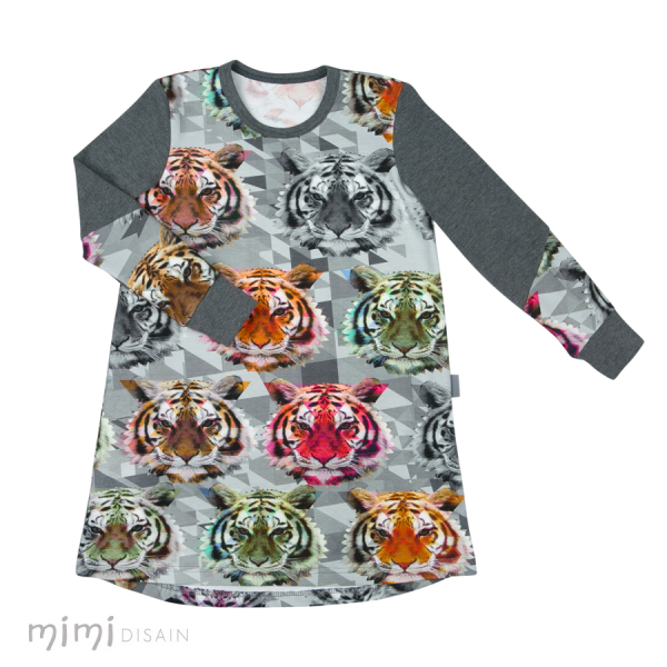 Mimi Thumby Dress Tiger