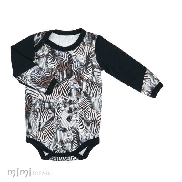 Mimi Body Long Sleeves Zebra