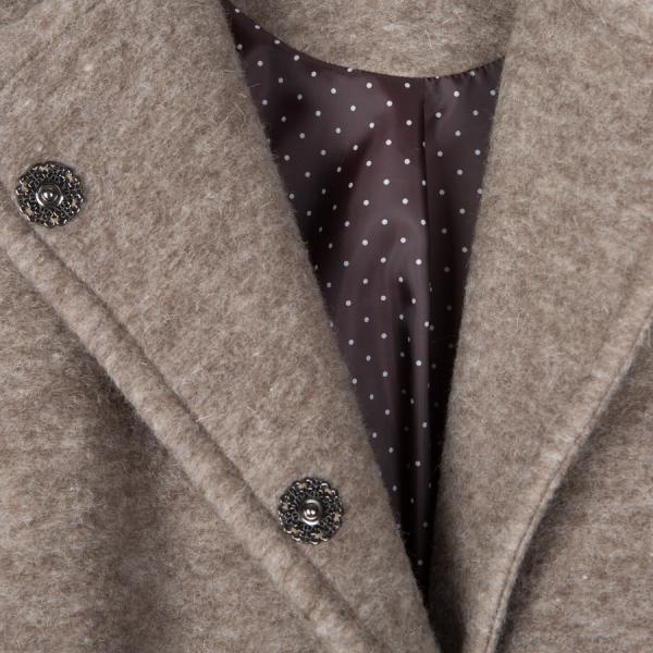 Mimi Women´s Coat Wool Beige