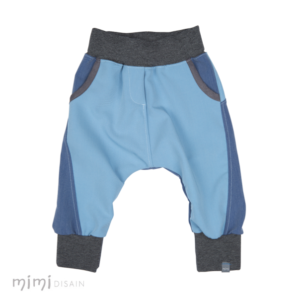 Mimi Baby Baggies Blue/Gray