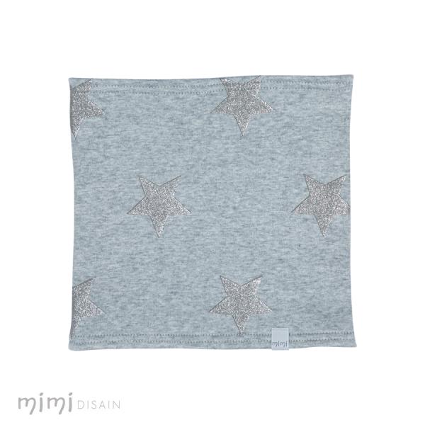 Mimi Tube Scarf Grey Star