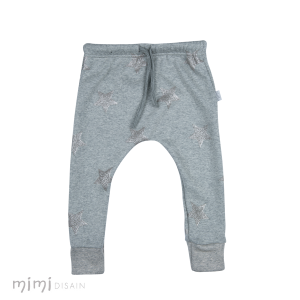 Mimi Cathy Pants Grey Star