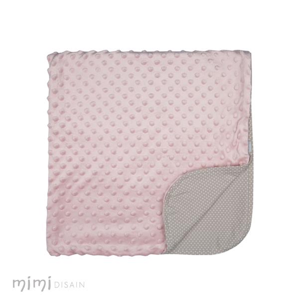 Mimi Baby Blanket Mummu Pink