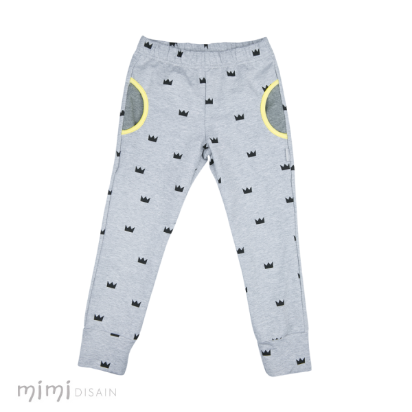 Mimi Terry Pants Crowns