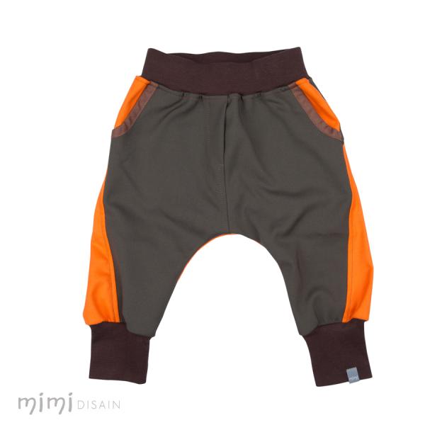Mimi Bäggipüksid Roheline/Oranž