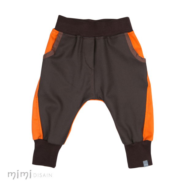 Mimi Baggies Brown/Orange