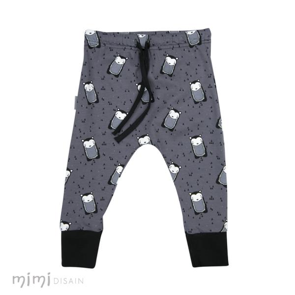 Mimi Cathy Pants Hedgehog Grey