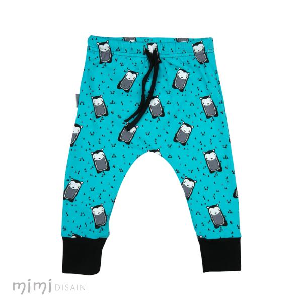 Mimi Cathy Pants Hedgehog Blue