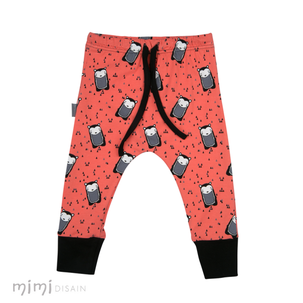 Mimi Cathy Pants Hedgehog Orange