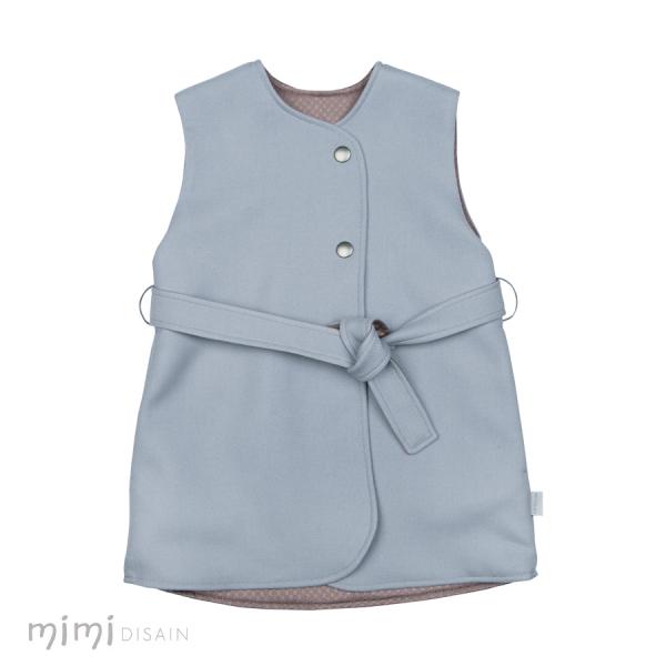 Mimi Wool Vest Coat