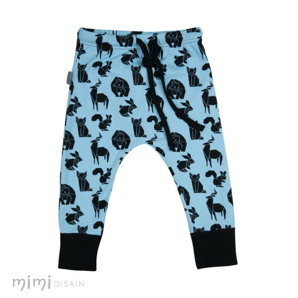 Mimi Cathy Püksid Loomad Sinine