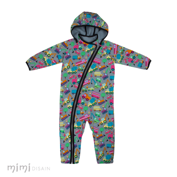 Mimi Softshell Jumpsuit Cars