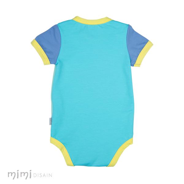 Mimi Body Short Sleeves Blue