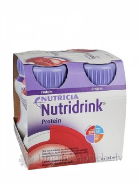 Nutridrink Protein marjamaitseline 4x125ml