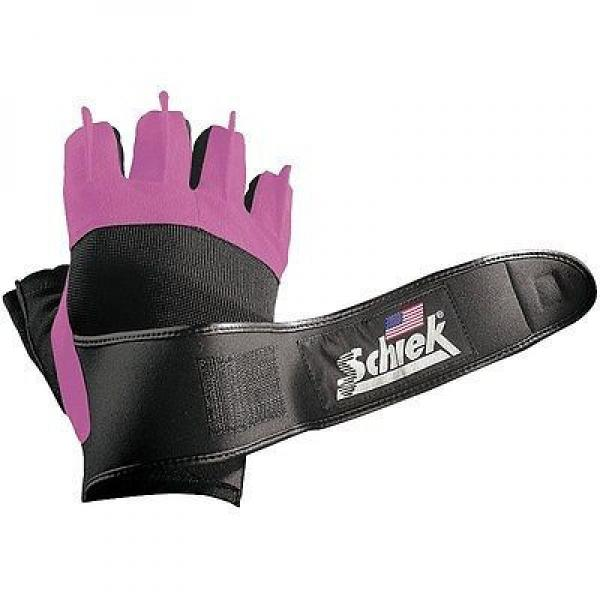 Platinum Pink Gloves With Wrist Wraps