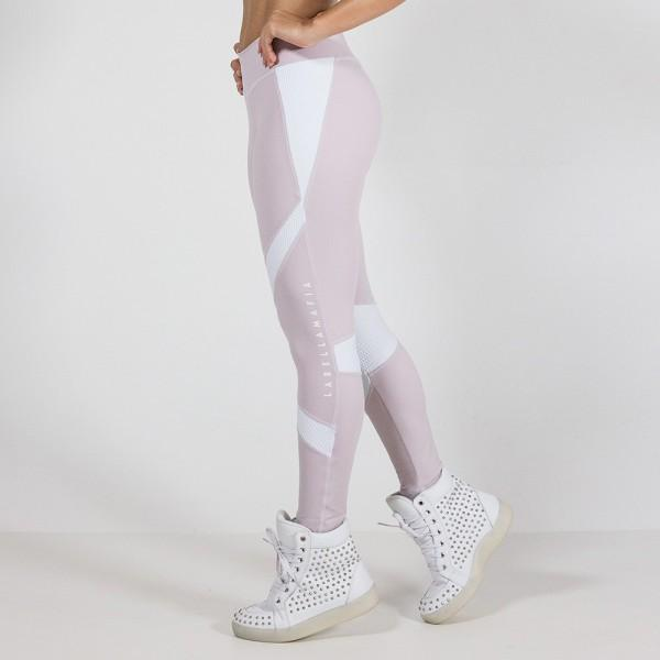 LABELLAMAFIA Legging S Pink and White