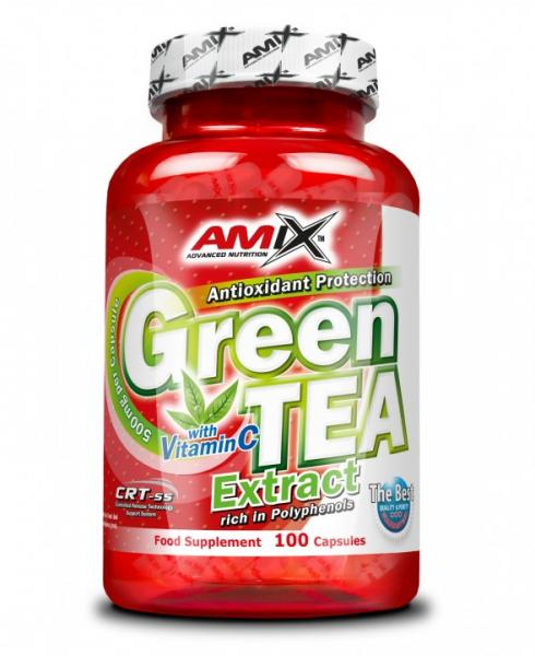 Green TEA Extract with Vitamin C 100cps